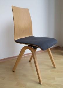 Moizi 40 Bewegungsstuhl Buche natur lackiert Stoff: Comfort S36 anthrazit Rücken Buche Formholz Sitzhöhe 47 cm 618,00 € 50% reduziert nur noch 309,00 €