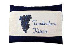 Traubenkernkissen-MTk3022TK-blau